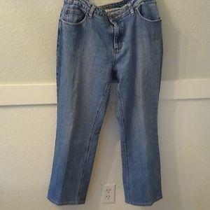St. John's Bay Straight Leg Jeans Size 16